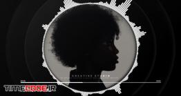 دانلود پروژه آماده افتر افکت : اکولایزر Music Visualizer – Black Version