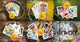 دانلود پروژه آماده افتر افکت : اسلایدشو کودک My Flower Card Display