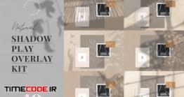 دانلود 40 افکت سایه برای روتوش عکس  Natural Shadow Play Overlay Kit