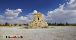 دانلود عکس مقبره کوروش در پاسارگاد  Pasargadae Tomb And Necropolis, Iran