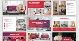 دانلود فایل لایه باز کاتالوگ Product Catalog Presentation Template