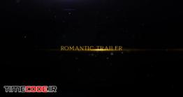 دانلود پروژه آماده پریمیر : تریلر عاشقانه Romantic Trailer