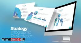 دانلود قالب پاور پوینت  اینفوگرافی Strategy Infographic Google Slides