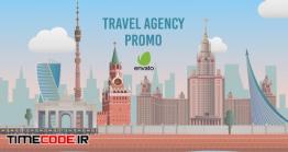 دانلود پروژه آماده افتر افکت : تیزر موشن گرافیک آژانس مسافرتی Travel Agency Promo