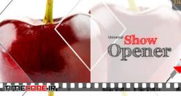 دانلود پروژه آماده افتر افکت : وله برنامه آشپزی Universal Show Opener