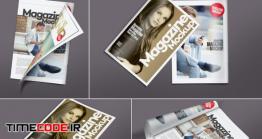 دانلود موکاپ مجله Versatile Magazine Mockups