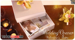 دانلود پروژه آماده افتر افکت : کلیپ استاپ موشن عروسی Wedding Opener / Valentine's Intro