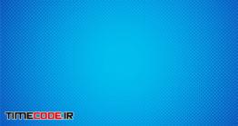 دانلود بگراند آبی با پترن نقطه ای Abstack Background Cartoon Style