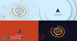 دانلود پروژه آماده افتر افکت : لوگو موشن طراحی و معماری Architectures 3D Logo