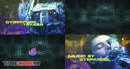 دانلود پروژه آماده افتر افکت : تریلر Cyberpunk Trailer