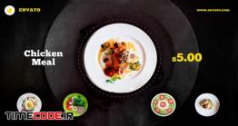دانلود پروژه آماده افتر افکت : تیزر تبلیغاتی رستوران Food Promo