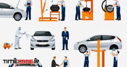 دانلود آیکون تعمیرات ماشین Icons Car Repair Service