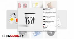 دانلود پروژه آماده افتر افکت : تیزر تبلیغاتی معرفی پیج اینستاگرام Instagram Portfolio Promo