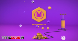دانلود پروژه آماده پریمیر : لوگو موشن بادکنک Kids Logo