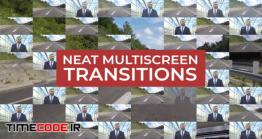 دانلود پروژه آماده پریمیر : ترنزیشن Neat Multiscreen Transitions