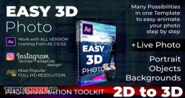 دانلود ابزار تبدیل عکس دو بعدی به سه بعدی Photo Animator – Easy 3D Photo