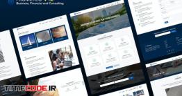 دانلود قالب HTML تک صفحه شرکتی Prometeo – Business, Financial And Consulting