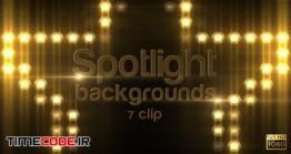 دانلود بک گراند موشن گرافیک Spotlight Background