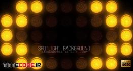 دانلود بک گراند موشن گرافیک Spotlight VJ Backgrounds