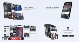 دانلود پروژه آماده افتر افکت : تیزر معرفی اپلیکیشن App Presentation