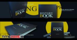 دانلود پروژه آماده افتر افکت : تیزر تبلیغاتی معرفی کتاب Book Promo Mockup Kit