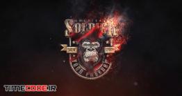 دانلود پروژه آماده افتر افکت : لوگو موشن آتش Burning Fire Logo Reveal