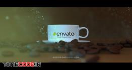 دانلود پروژه آماده افتر افکت : تیزر تبلیغاتی قهوه Coffee Logo Opener