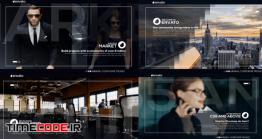 دانلود پروژه آماده افتر افکت : اسلایدشو معرفی شرکت Corporate Slideshow