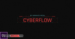 دانلود پروژه آماده پریمیر : تایتل دیجیتال Cyberflow – HUD Titles