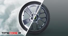دانلود پروژه آماده افتر افکت : لوگو موشن دریفت ماشین Drifting Logo Opener