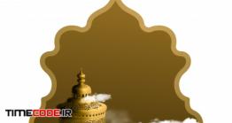 دانلود فایل لایه باز کارت تبریک عید فطر مبارک Eid Mubarak Islamic Greeting Card Template