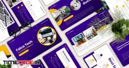 دانلود قالب پاور پوینت تکنولوژی  Falca – Technology Powerpoint Template