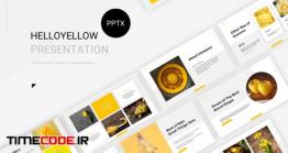 دانلود قالب پاورپوینت Hello Yellow – Powerpoint Template