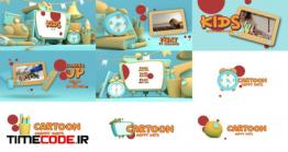دانلود پروژه آماده افتر افکت : بسته تلویزیونی شبکه کودک و نوجوان Kids TV Broadcast