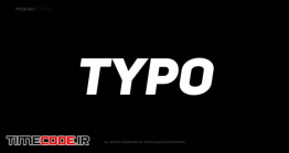 دانلود پروژه آماده افتر افکت : تایپوگرافی Kinetic Typography Titles