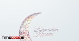 دانلود وکتور ماه رمضان Ramadan Kareem Sign