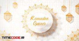 دانلود پروژه آماده افتر افکت : وله ماه رمضان Ramadan Opener
