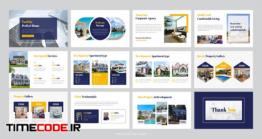 دانلود بروشور لایه باز مسکن و املاک Real Estate Business Presentation Template