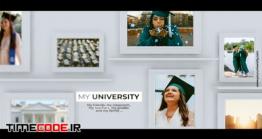 دانلود پروژه آماده افتر افکت : آلبوم عکس فارغ التحصیلی University  Presentation