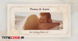 دانلود پروژه آماده پریمیر : کارت دعوت عروسی Wedding Invitation