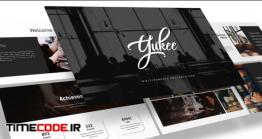 دانلود قالب پاورپوینت چند منظوره   Yukee – Multipurpose Powerpoint Template