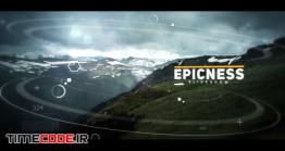 دانلود پروژه آماده افتر افکت : اسلایدشو پارالاکس Cinematic Slideshow