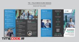 دانلود فایل لایه باز بروشور سه لت Corporate Trifold Brochure