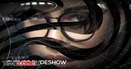 دانلود پروژه آماده افتر افکت : اسلایدشو پارالاکس Curves Slideshow