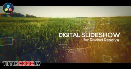 دانلود پروژه آماده داوینچی ریزالو : اسلایدشو دیجیتال Digital Slideshow For DaVinci Resolve