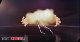دانلود پروژه آماده افتر افکت : نمایش لوگو با دست Hands Logo III Clouds