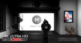 دانلود پروژه آماده افتر افکت : لوگو موشن شرکت فیلمسازی Hollywood Movie Intro\