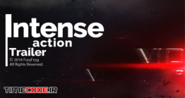 دانلود پروژه آماده افتر افکت : تریلر اکشن Intense Action Trailer