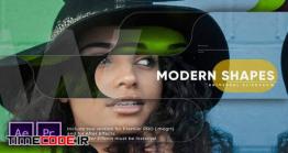 دانلود پروژه آماده پریمیر : اسلایدشو Modern Shapes Universal Slideshow