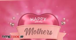 دانلود رایگان فایل لایه باز کارت تبریک روز مادر Mothers Day Greeting Card